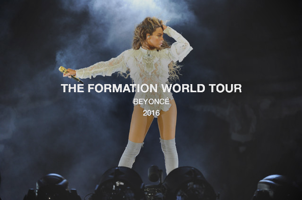 Beyonce Formation World Tour Tickets