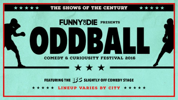 oddball comedy and curiousity festival tickets