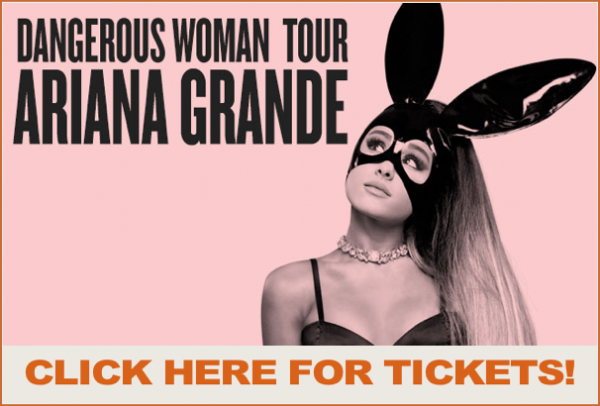 Ariana Grande Tour Tickets