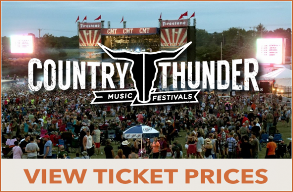 Country Thunder Ticket Prices