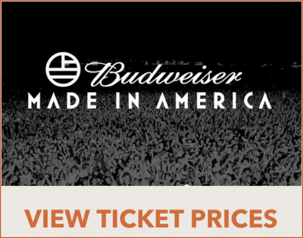 Budweiser made in america tickets