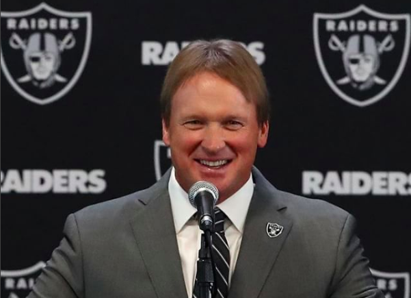 What's Up with Jon Gruden's Raiders
