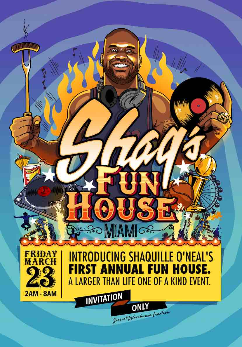 Shaq's Fun House - The Ultimate Super Bowl Party in Atlanta 2019