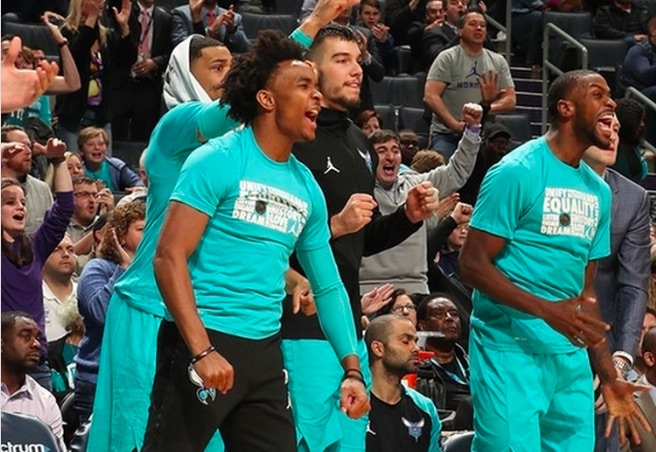 A Team of Young Stars and Kemba Walker - Shop Cheap Charlotte Hornets Tickets!