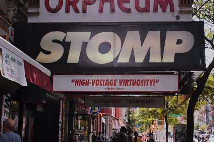 Reasons to Check out STOMP in New York City! Shop Cheap STOMP Tickets!